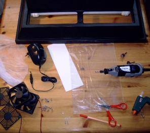 Was für die Aquariumkühlung mit PC-Lüfter benötigt wird