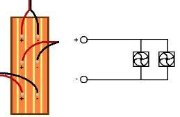 Einfacher Schaltplan einer einfachen Konstruktion