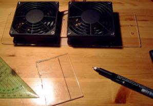 Aus einem Rest Plexi kann man sich Prima ein Wasserdichten Deckel für die Platine in dem Zwischenraum basteln